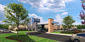 Rehabilitation Hospital Rendering